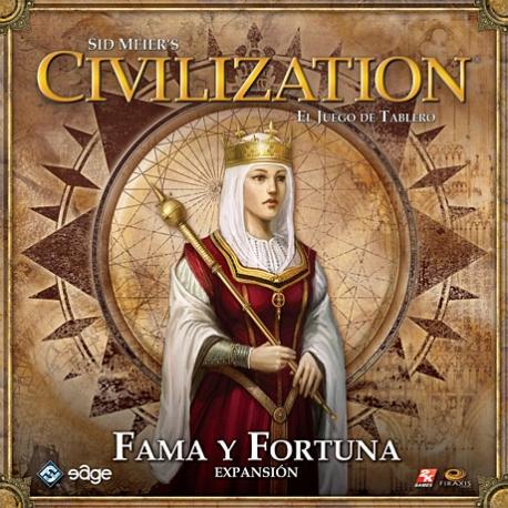 Civilization - Fama Y Fortuna expansión para completar el juego básico