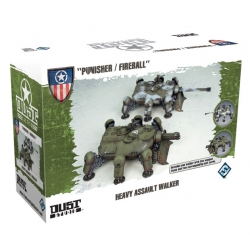 Heavy Assault Walker: Punisher / Fireball expansión para Dust Tactics