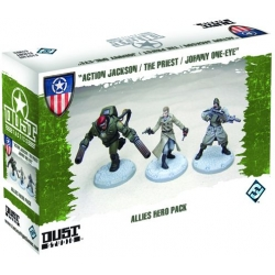 Allies Hero Pack expansion for basic game Dust Tactics
