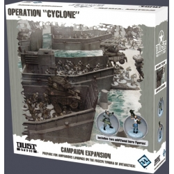 Operation Cyclone expansion for basic game Dust Tactics
