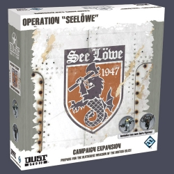 Operation SeeLöwe expansion for basic game Dust Tactics