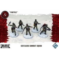 Close Combat Squad Fakyeli expansion for basic game Dust Tactics