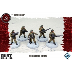 Battle Squad Frontoviki expansion for basic game Dust Tactics