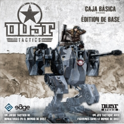 Dust Tactics game of battles with miniatures and boards in 3D