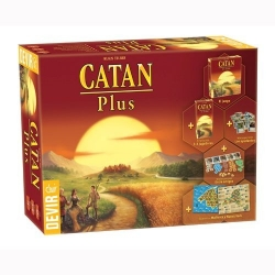The Settlers of Catan Plus Limited Edition of Devir