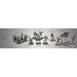 Pack de 300 PTS del ejército Tohaa de Infinity 280012-0618