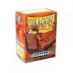 DRAGON SHIELD STANDARD SLEEVES - COPPER (100 SLEEVES)