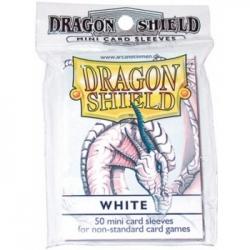 DRAGON SHIELD SMALL SLEEVES - WHITE (50 SLEEVES)