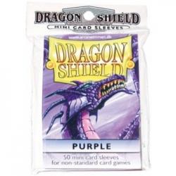DRAGON SHIELD SMALL SLEEVES - PURPLE (50 SLEEVES)