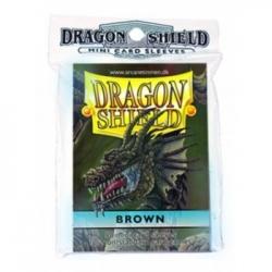 FUNDA YUGI DRAGON SHIELD BROWN (50)