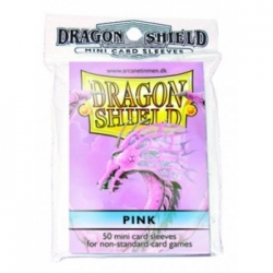DRAGON SHIELD SMALL SLEEVES - PINK (50 SLEEVES)