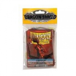 FUNDA YUGI DRAGON SHIELD COPPER (50)