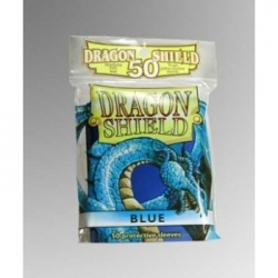 DRAGON SHIELD STANDARD SLEEVES - BLUE (50 SLEEVES)