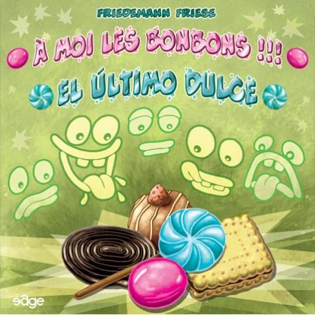 El último dulce es juego de mesa fácil, rápido y de duras decisiones, en el que competirás por los mejores dulces