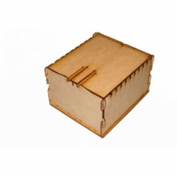 TRADING CARD BOX - WOOD