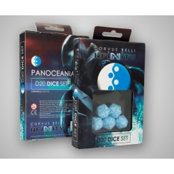 INFINITY - PANOCEANIA D20 DICE SET (5)