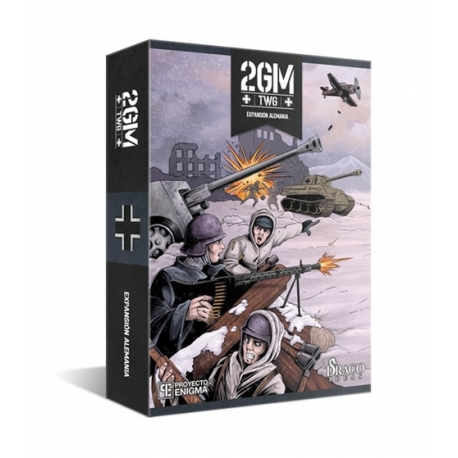 2GM TACTICS EXPANSION GERMANY REFORCEMENT (INGLES VERSION)