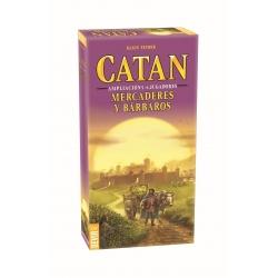 Mercaderes y Bárbaros Colonos de Catan Expansión 5-6 jugadores