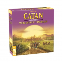 Los Colonos de Catan: Mercaderes y Bárbaros
