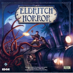 Eldritch Horror is a cooperative adventure game inspired by the fabulous board game