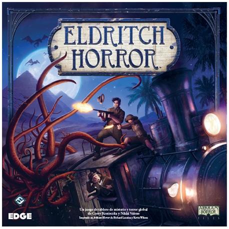 Eldritch Horror es un juego de aventuras cooperativo inspirado en el fabuloso juego de mesa.