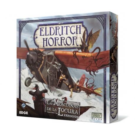 Eldritch Horror - Las Montañas De La Locura expansión juego básico