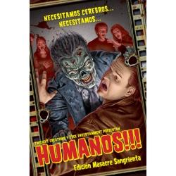 Humanos!!! Juego de mesa de supervivencia Zombie
