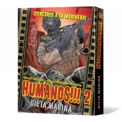 Humanos!!! 2: Dieta Marina segunda edición del juego de mesa de zombies