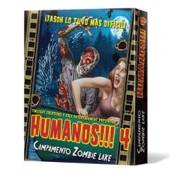 Humanos!!! 4: Campamento Zombie Lake juego de zombies de Edge