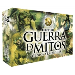 Card game Guerra de Mitos Geniuses and Thieves