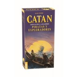 CATAN EXPLORERS & PIRATES EXPANSION 5-6 PLAYERS