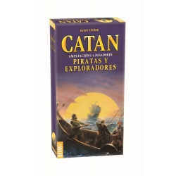 CATAN EXPLORERS & PIRATES EXPANSION 5-6 PLAYERS