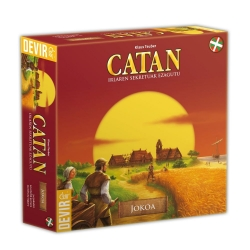 Game that combines strategy, cunning and ability to negotiate and in which players attempt to colonize an island Catan