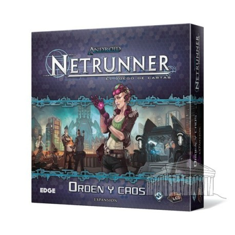 Orden y caos Android Netrunner LCG
