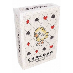 CHOCOBO PLAYING CARDS - POKER