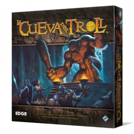 La Cueva del Troll juego de mesa de estrategia y competitivo de Edge