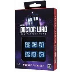 QW SET DADOS DR. WHO RPG DELUXE SET