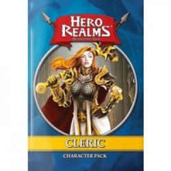 HERO REALMS: CHARACTER PACK DISPLAY – CLERIC (12 PACKS) - EN