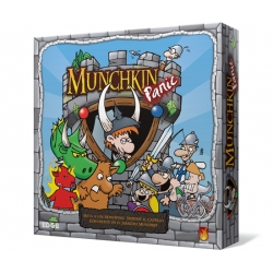 Munchkin Panic Edge board game. Defeat the monsters and become rich