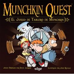 Munchkin Quest juego de tablero de estrategia Edge