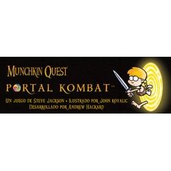 Munchkin Quest: Portal Kombat expansión para completar juego básico
