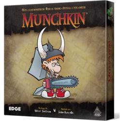 Munchkin juego de cartas de estrategia de la marca Edge