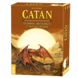 Expansion Treasures, Dragons and Adventurers for the Settlers of Catan