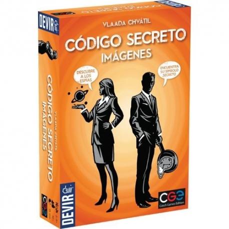 Código Secreto - Imágenes juego de mesa de espías de Devir