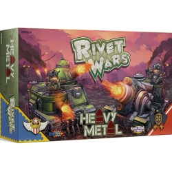 Rivet Wars - Heavy Metal, expansion to complete basic game