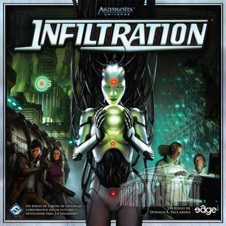 Android Infiltration card game from Fantasy Flight Games