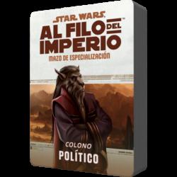 Star Wars: Al filo del Imperio. Mazo de especialización: Colono Político