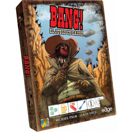Bang! Contens Dice game from the far west