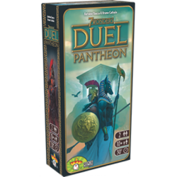 7 Wonders Duel: Pantheon, the gods play an important role in your games.