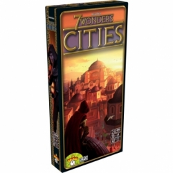 Expansion game 7 Wonders Cities from Repos Production and Asmodee